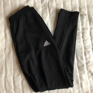 Black Adidas climalite Training Pants
